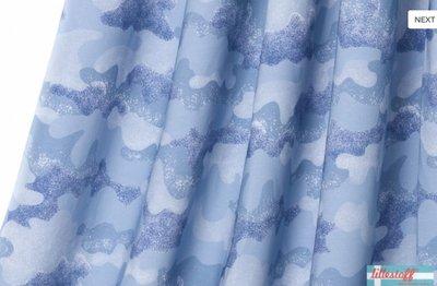 Lillestoff - Wolken camouflage summersweat/french terry €21,80 p/m GOTS