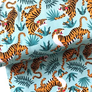 Jungle tigers €24 p/m jersey (GOTS)