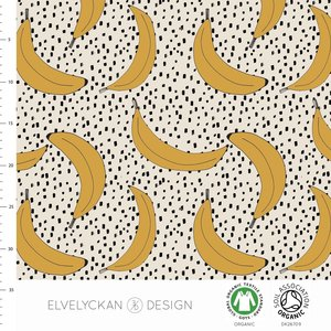 Elvelyckan  - Banana €24 p/m jersey (GOTS)