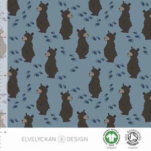 Elvelyckan  - Bear blue €24 p/m jersey (GOTS)