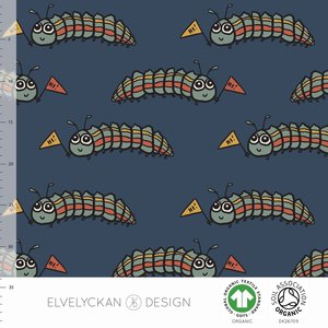 Elvelyckan  - Larva €24 p/m jersey (GOTS)