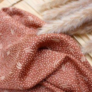 Atelier Brunette - Dune Chestnut (Ecovero dobby) €19,90 p/m
