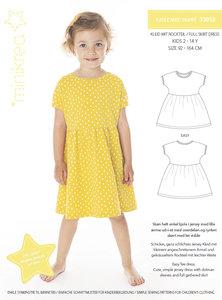 Minikrea full skirt dress 2-14j / 92-164