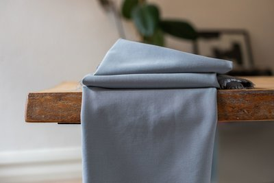 meetMilk - Stretch Twill SKY met TENCEL™ Lyocell vezels €24,90 p/m
