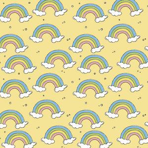 Bloome CPH - Rainbow - soft yellow - jersey  €23 p/m