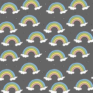 Bloome CPH - Steel grey Rainbow - summersweat  €23 p/m