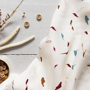 Atelier Brunette - Tabby shell(Viscose) €19,90 p/m