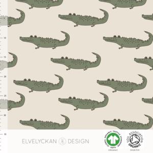 Elvelyckan  - Crocs creme €24 p/m jersey (GOTS)
