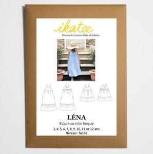 Ikatee - Lena dress KIDS- mt 3y-12y