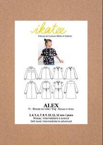 Ikatee - Alex blouse or dress KIDS- mt 3y-12y