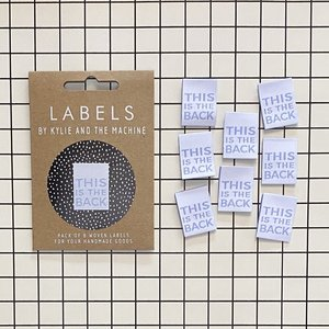 KYLIE & THE MACHINE - THIS IS THE BACK 8 labels €6,50 per set