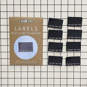 KYLIE & THE MACHINE - YOU CAN'T BUY THIS 8 labels €6,50 per set