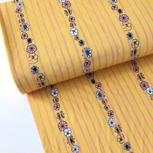 Chat Chocolat - Weaving flowers - Single jersey GOTS €19,90