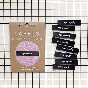 KYLIE & THE MACHINE - ME MADE 8 labels €6,50 per set