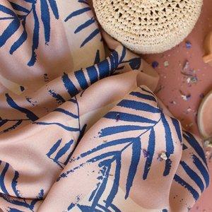 Atelier Brunette - Canopy Cobalt (Lenzing™️EcoVero™️viscose fibers) €19,90 p/m
