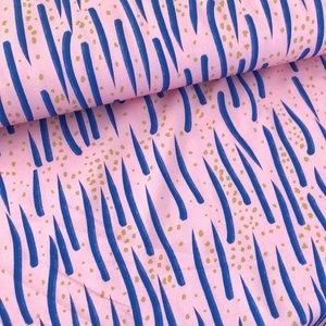 Lillestoff - Lillies waves jersey €21,30 p/m GOTS