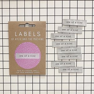 KYLIE & THE MACHINE - ONE OF A KIND 8 labels €6,50 per set