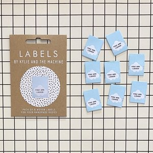 KYLIE & THE MACHINE - YOU ARE LOVED 8 labels €6,50 per set