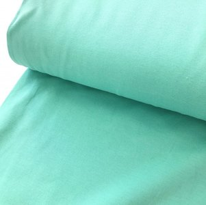 COUPON 60cm Polytex Organics - Mintgroen jersey (GOTS) €15,80