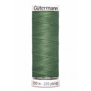 Gutermann 296 dofgroen - 200m