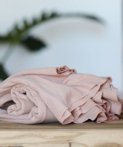 meetMilk - Fine rib Jersey - Powder Pink met TENCEL™ Lyocell vezels+katoen €22,90 p/m