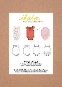 Ikatee - Malaga KIDS - mt 1 maand  -3/4 y