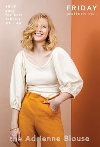 Friday Pattern Co. - Adrienne Blouse €18,70