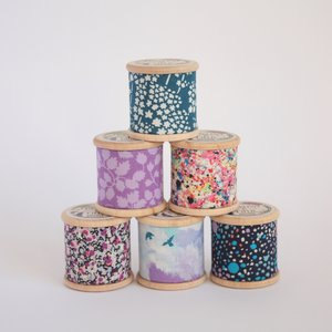 Foxglove & Field 6 patroongewichten 130gr - Liberty Dreams €34,95 per set
