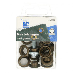 MMJZ Nestels Brons 11mm - €4,35 p/s