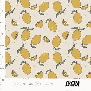 Elvelyckan  - LYCRA lemons €23 p/m (oekotex)