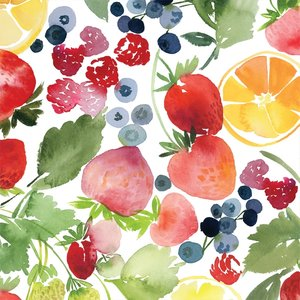 Cloud 9 - Berry Jam - Laminated €27,90 p/m (biokatoen)