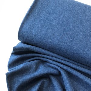 LEVERTIJD 1-2 WKN Denim / Jeansstof blauw STRETCH - €15,20
