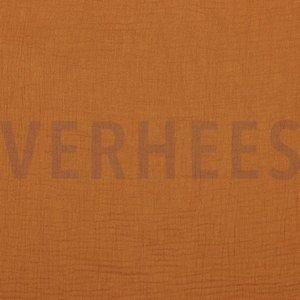 Verhees GOTS  - Brique Double Gauze/hydrofiel €8,50 p/m katoen (GOTS)