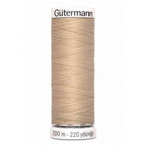 Gutermann 186 cremegeel - 200m