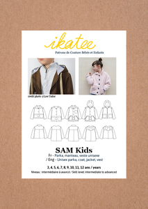 Ikatee - Sam Parka/jacket unisex 3-12 jaar €16 p/s