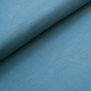 Stoffonkel Solid Beach house blue JERSEY - €16,80 p/m GOTS