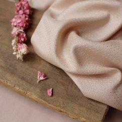 Atelier Brunette - Blush viscose dobby (ECOVERO) €19,90 p/m