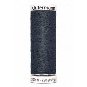 Gutermann 095 donkergrijs- 200m