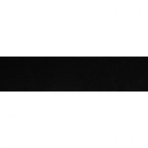 Zwart schuin geweven elastiek 40mm €2 pm