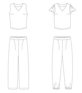 Bel'Etoile - Nia pants en top mt 32-52