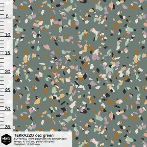 COUPON 105 CM Mieli Design - Terrazzo SOFTSHELL €26,90 p/m (organic)