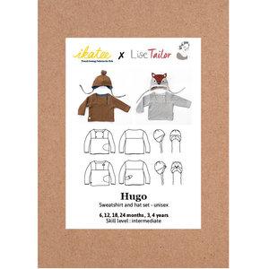 Ikatee - Hugo sweatshirt + hat 1m -4y €16 p/s