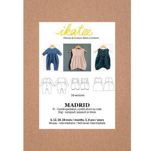 Ikatee - MADRID jumpsuit / playsuit - Baby 6M/4Y  €16 p/s