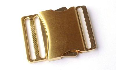 Ceintuur/tas en siergesp 40 mm goud - €6,99 per stuk