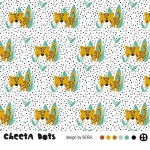 Lillestoff - Cheetah Dots SUMMERSWEAT €21,80 p/m GOTS