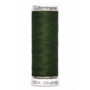 Gutermann 597 donker mosgroen - 200m