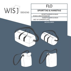 WISJ - Flo sport- en handtas €12
