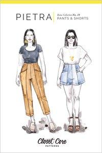 Closet Core Patterns - Pietra trousers & shorts €19,95