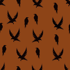 Bloome CPH - Winter Crane RUST french terry €23,90 p/m
