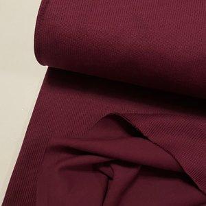 Fabrilogy - Organic Knitwear (Interlock)- maroon €17,50 p/m GOTS
